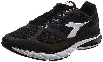 Diadora Scarpa Running Sneaker Jogging Uomo Mythos blushield hip Black Black Scarpe