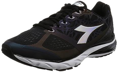 Diadora Scarpa Running Sneaker Jogging Uomo Mythos blushield hip Black Black 3e7de6c081f