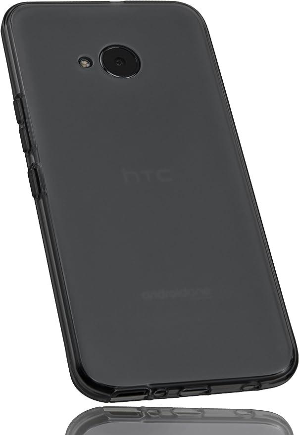 mumbi Funda Compatible con HTC U11 Life Caja del teléfono móvil, Negro Transparente: Amazon.es: Electrónica