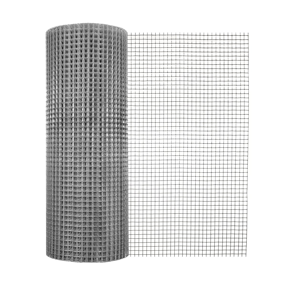 Garden Zone 24 Inches x 100 Feet 19-Gauge Galvanized Hardware Cloth with 1/2-Inch Openings