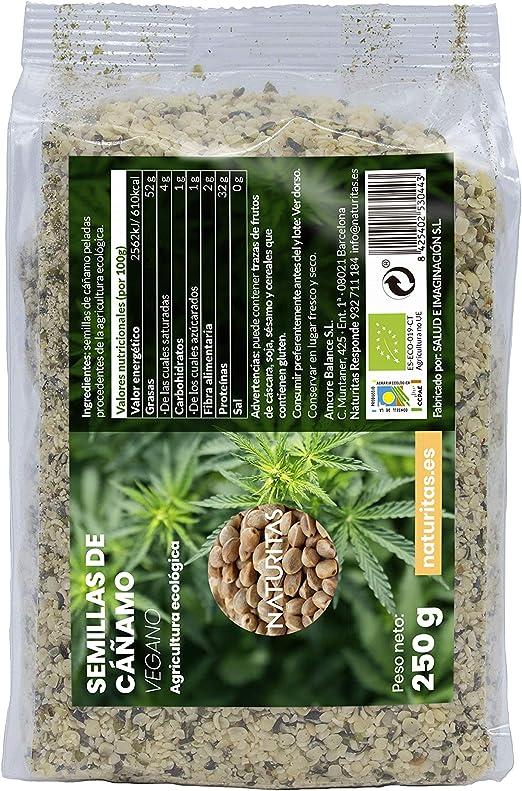 Semilla de Cáñamo Bio: Amazon.es: Alimentación y bebidas