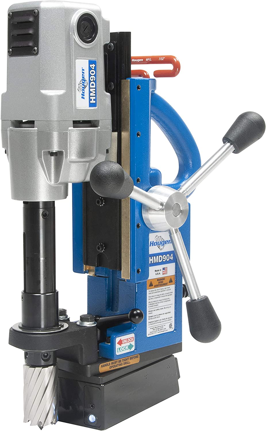 Best Magnetic Drill Press: Hougen HMD904S 115-Volt Swivel Base Magnetic Drill