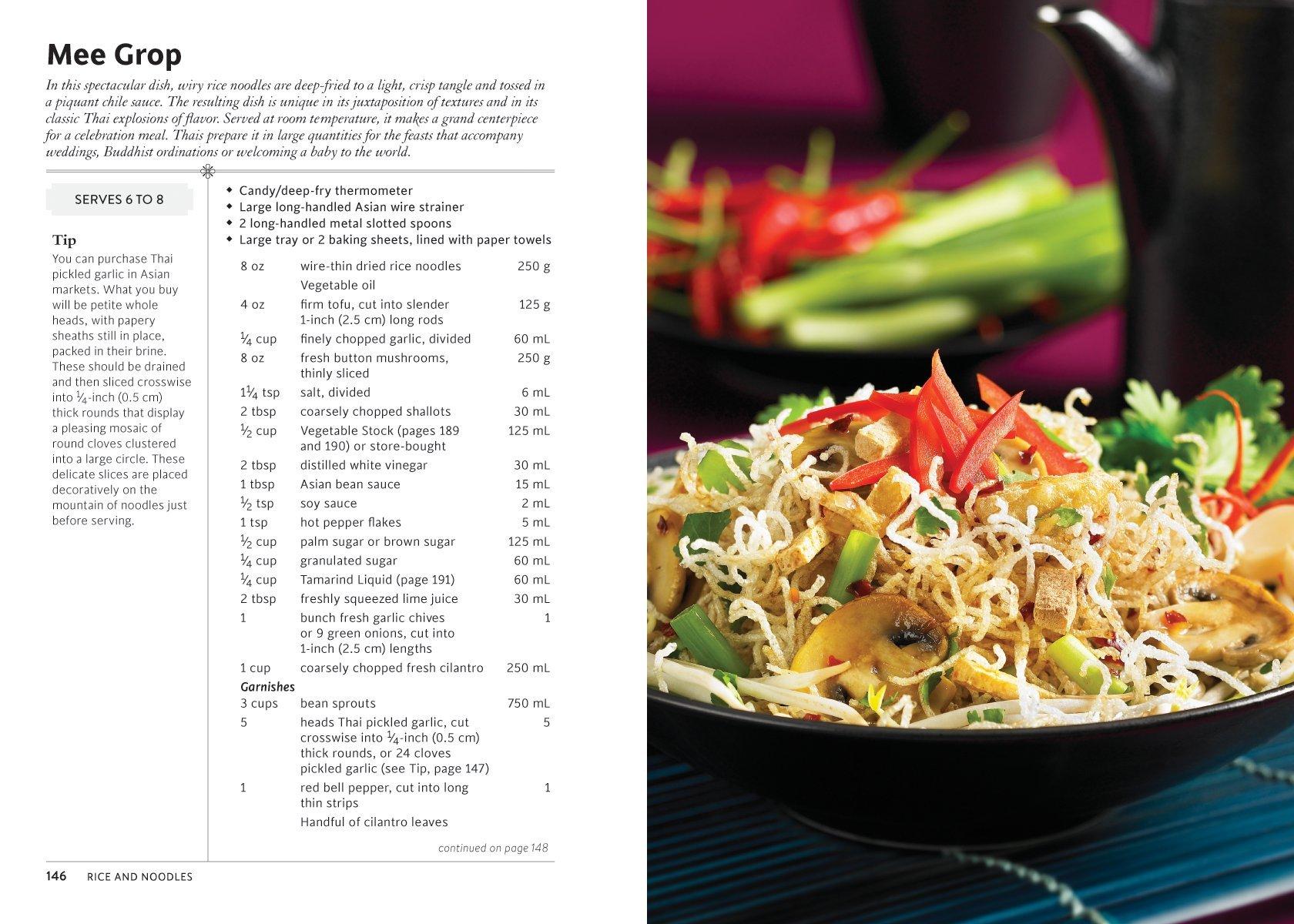 Simply Vegetarian Thai Cooking: 125 Real Thai Recipes: Nancie ...