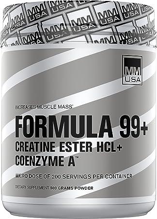 MMUSA Formula 99 CREATINE Ester HCL Power ACCELERANT Blend, 800g. 200 Doses