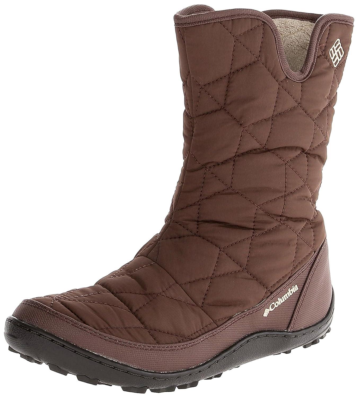 Columbia Women's Minx Slip II Omni-Heat Winter Boot B07B2YJ884 6.5 B(M) US|Brown