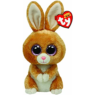 Ty Beanie Boos Carrots Brown Bunny Plush: Toys & Games