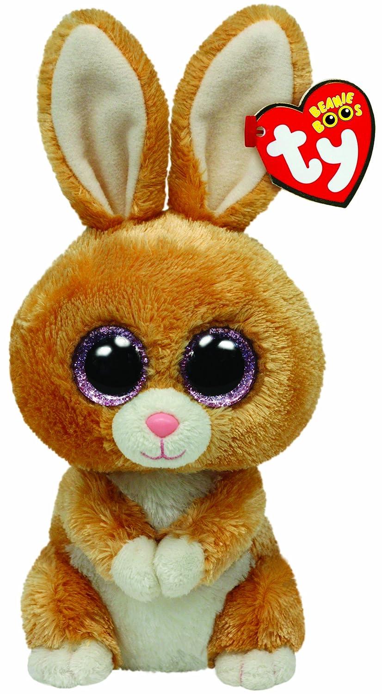 Ty Beanie Boos - Peluche Conejo, color marrón: Amazon.es: Juguetes y juegos