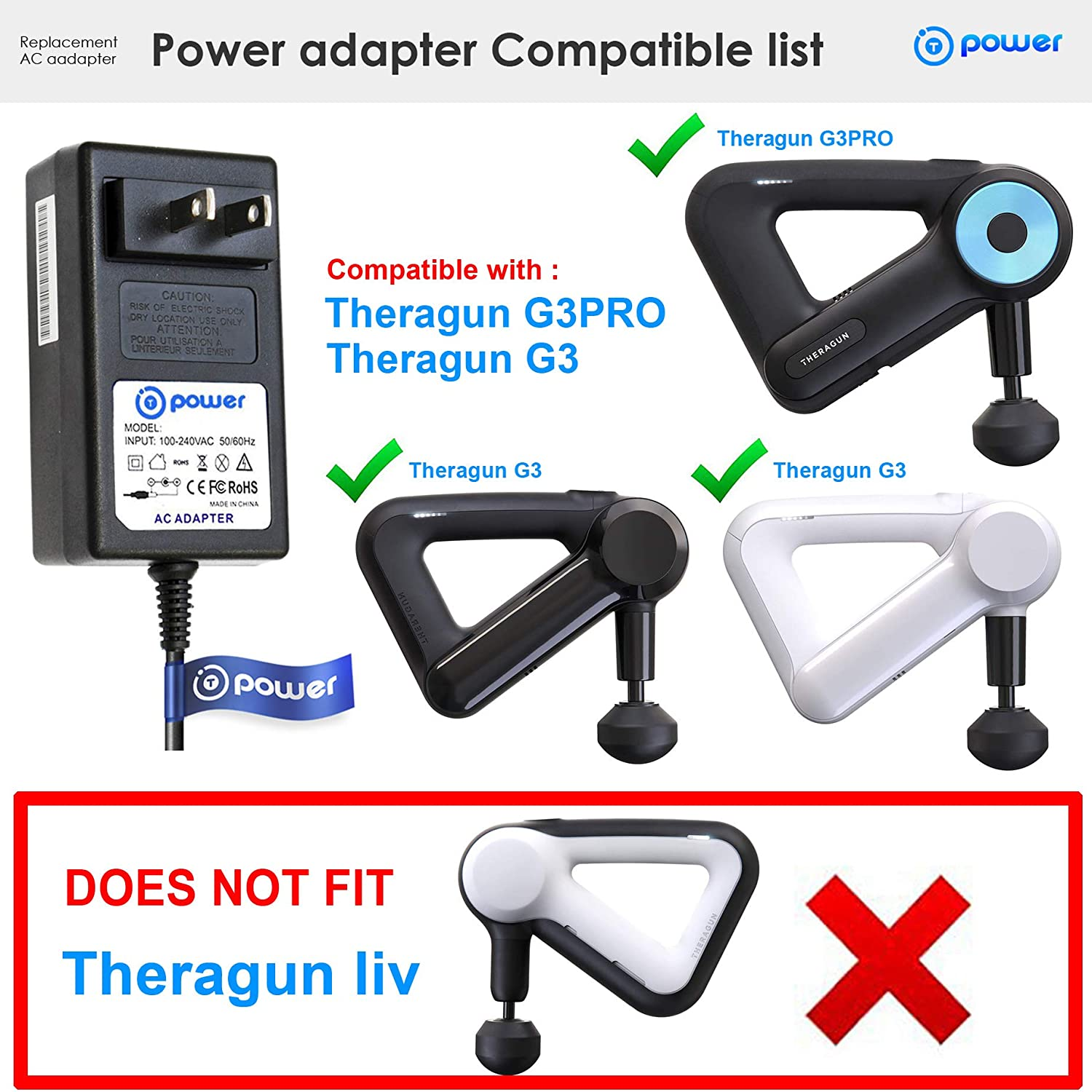 Theragun Rechargeable Battery for G3 Pro
