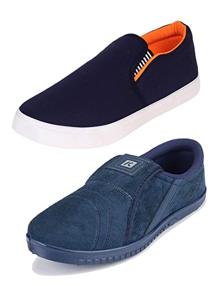 050749d10 WORLD WEAR FOOTWEAR Loafers Shoes for Men (Combo-(2)-486-1085)  Buy Online  at Low Prices in India - Amazon.in