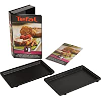 Tefal Snack Collection French Toast Maker Non Stick Plates, Black