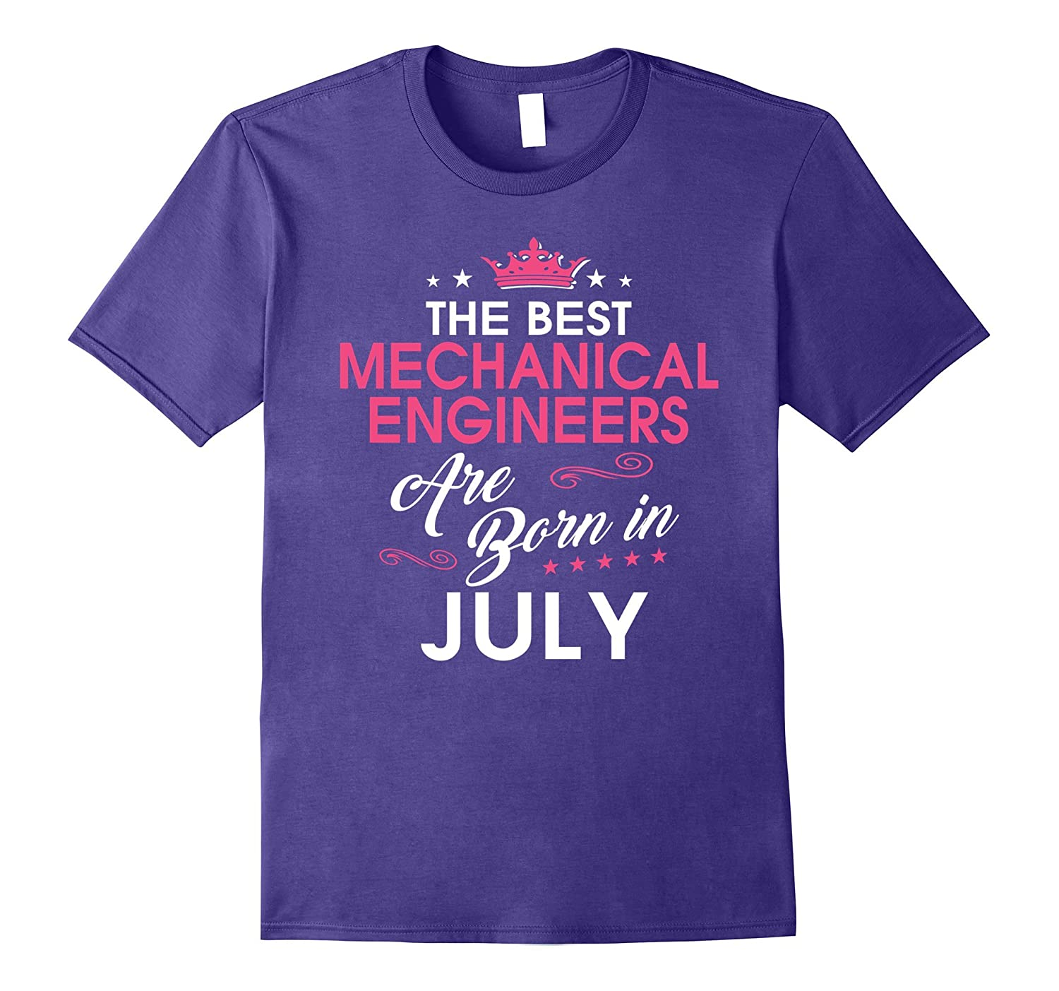 Best Mechanical Engineers Are Born In JULY Birthday Gift Shi-TH