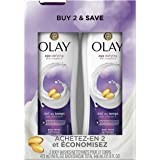 Olay Body Wash with Vitamin E, 16 Fl Oz, 2 Count