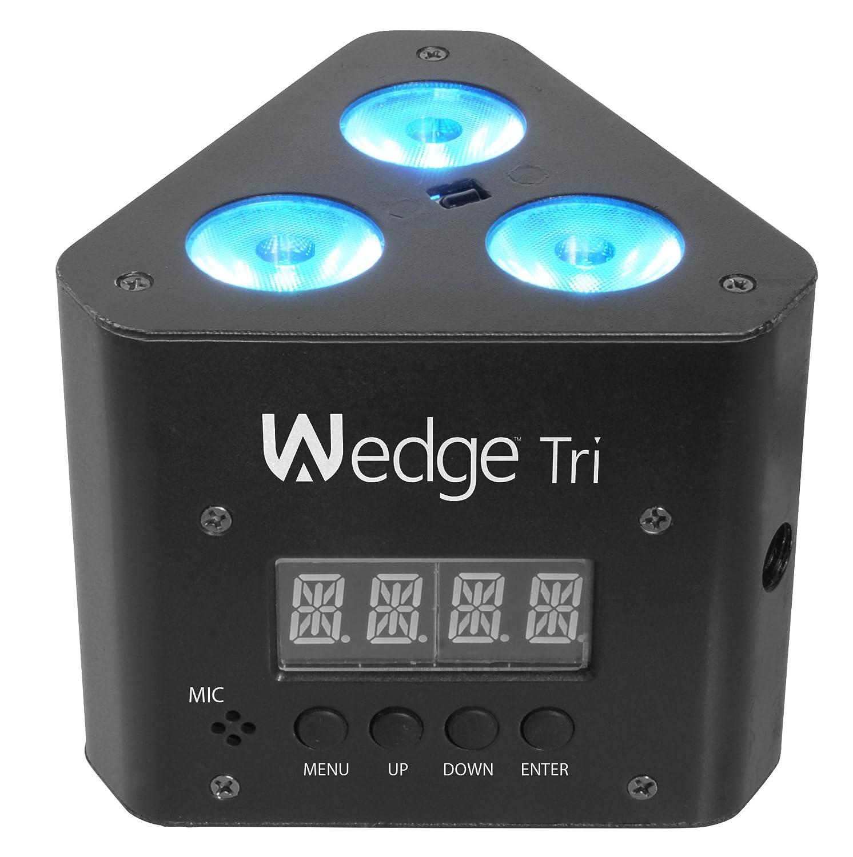 amazon com chauvet dj wedge tri led wash light w infared remote
