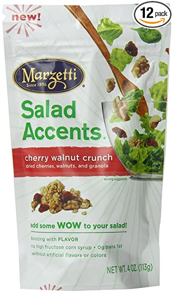 Amazoncom Marzetti Cherry Walnut Crunch Salad Accents 40 Ounce