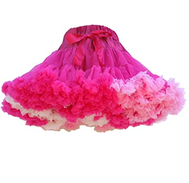 be43c3fa43 Little Bo Peep Hot Pink Swirl pettiskirt (8-10 yrs): Amazon.co.uk ...