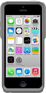 OtterBox Commuter Series - Protective cover for cellular phone - polycarbonate - Glacier - for Apple iPhone 5c