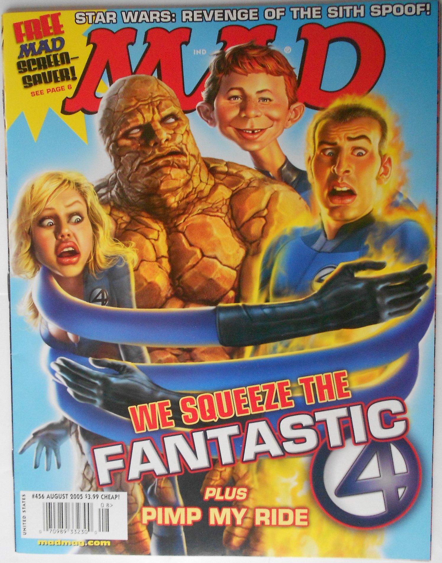 Download Mad Magazine Issue # 456 August 2005 PDF