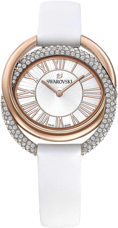 Reloj Swarovski Duo LS 5484385 Duo Wht/Wht/Pro Correa Blanca de 18 cm