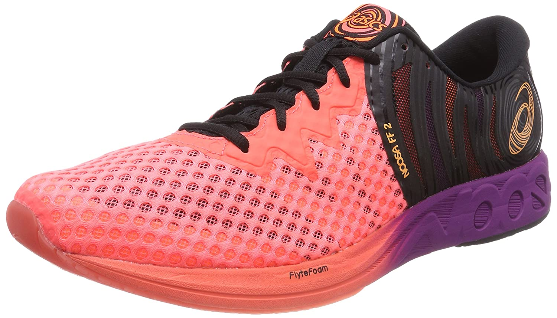 Asics Noosa FF 2, Zapatillas de Running para Hombre 45 EU|Naranja (Flash Coral/Shocking Orange/Black 0630)