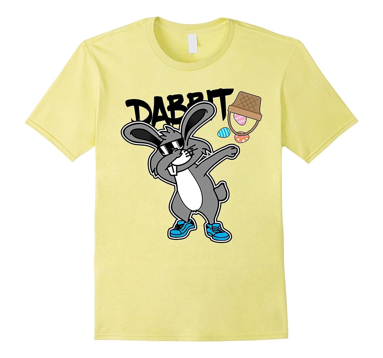 45ddf3b43 Dabbing Bunny Dabbit Easter T-Shirt Dabbing Rabbit TShirt-RT ...