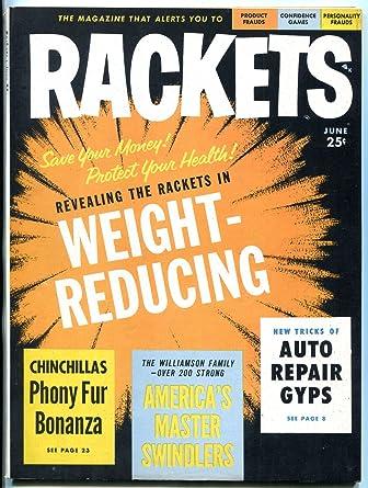 Rackets Magazine #1 June 1956- Frauds- Confidence Games