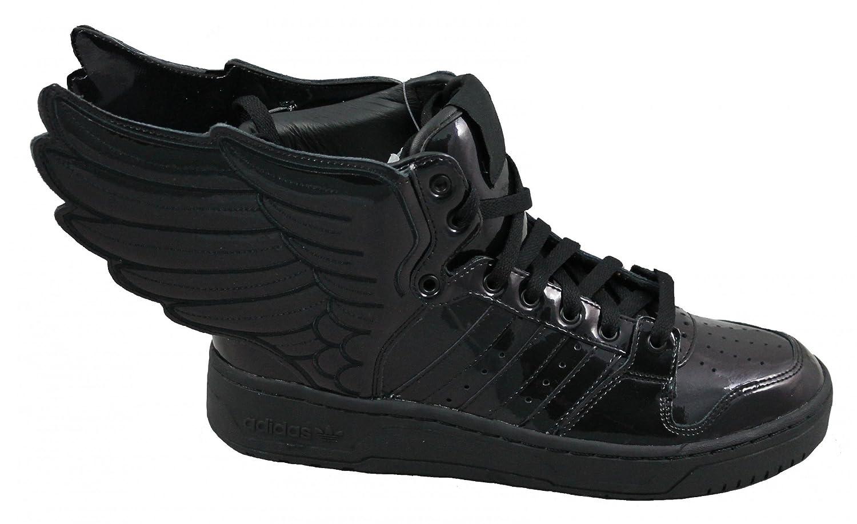... adidas Originals Js Wings 2.0 Obyo Jeremy Scott Trainer Black Size 8  Amazon.co. 98c2e6cb4