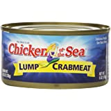 Chicken of the Sea Lump Crab, 6-Ounce Cans (Pack of 12)
