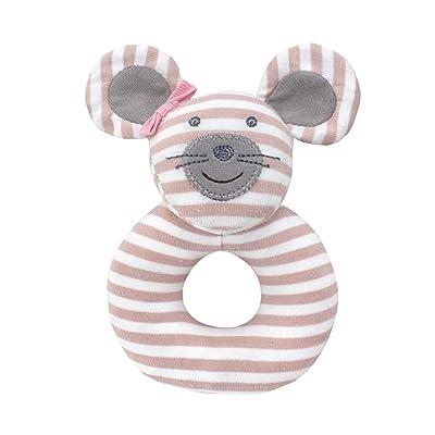 Organic Farm Buddies Rattle, Ballerina Mouse : Baby Rattles : Baby