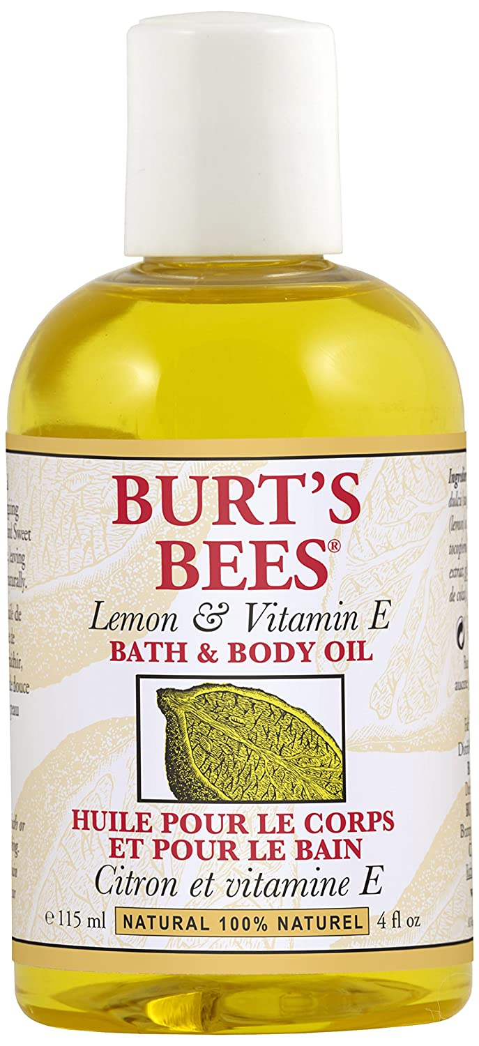 Burt's Bees Lemon and Vitamin E Body and Bath Oil, 115ml Burt' s Bees 09441-11