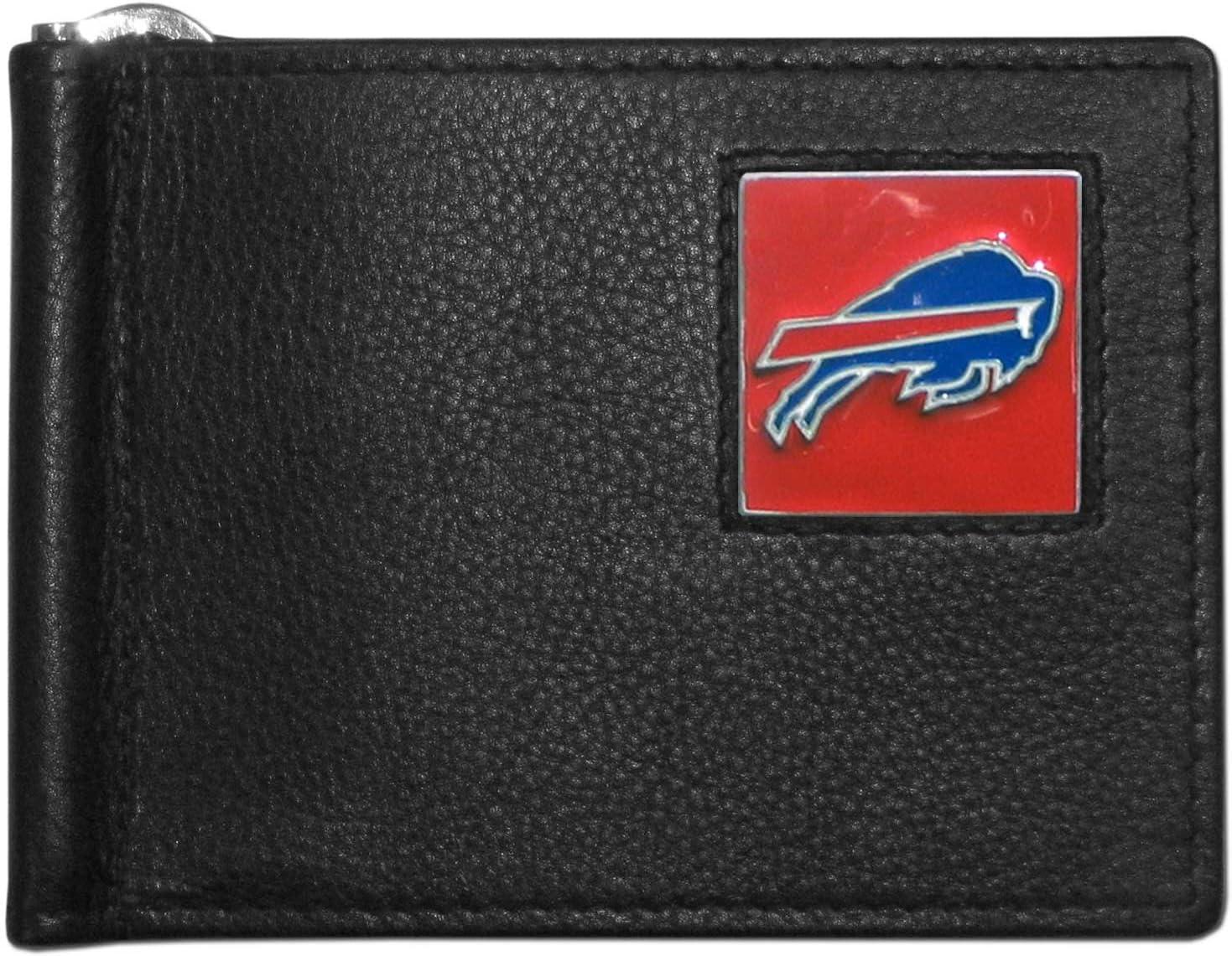 Siskiyou NFL Leather Bill Clip Wallet