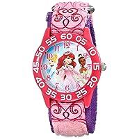 Kids' W001667 Princess Analog Display Analog Quartz Pink Watch