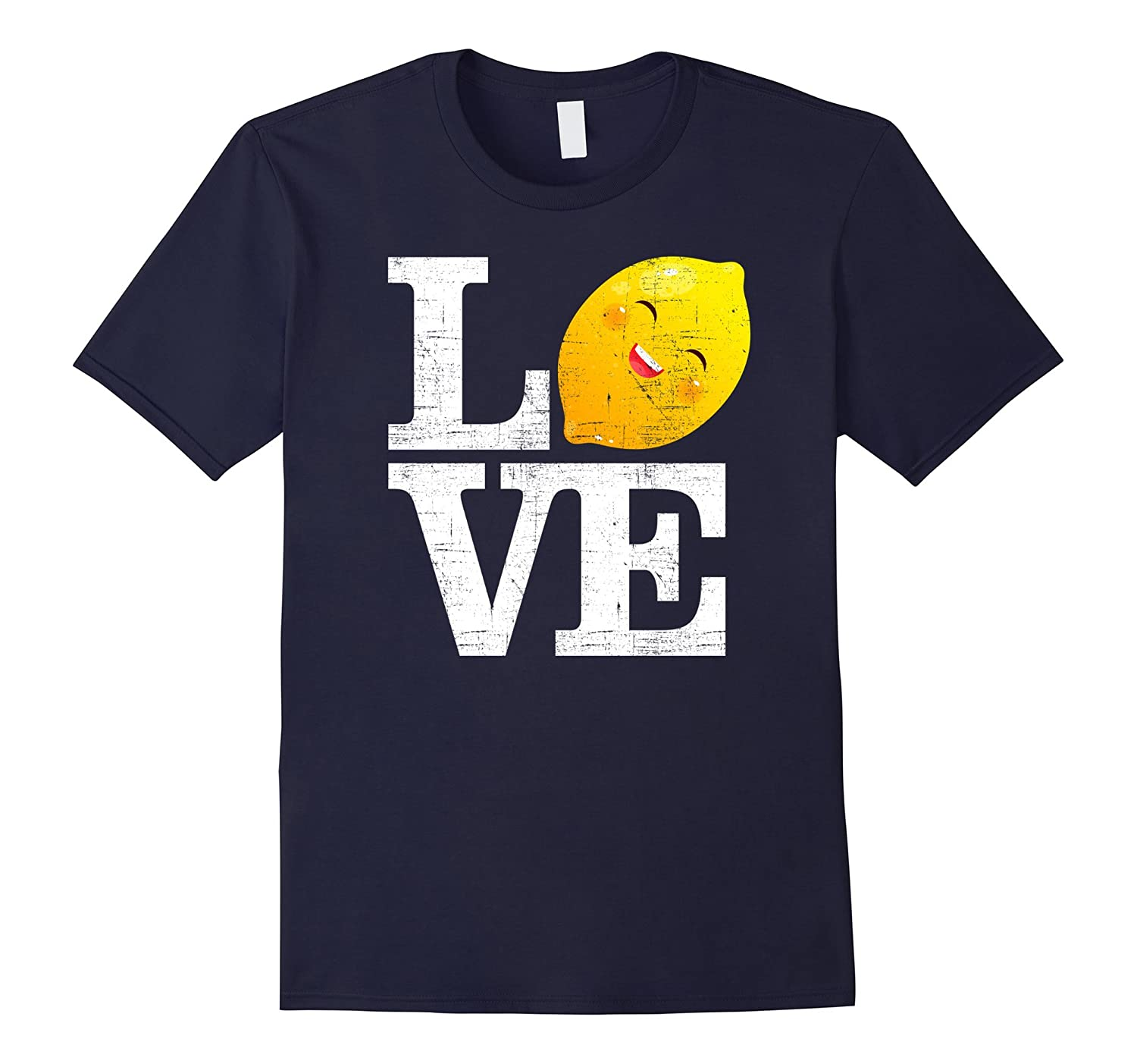 Love Happy Lemon  Fresh Summer Lemons T-Shirt-Vaci