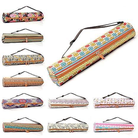 d3ae0789712d5  DoYourYoga Yogatasche »Sunita hochwertigem Canvas (Segeltuch)   aufwendig  verarbeitet Tasche für