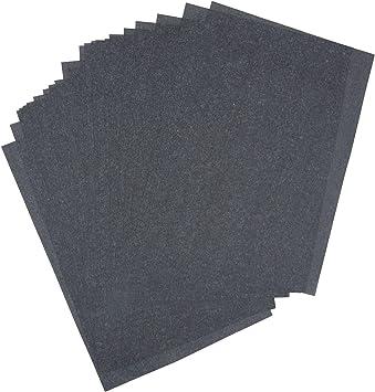 "Premium Graphite Carbon Transfer Tracing Carbon Paper 50 Sheets Black 9/"" x 13/"""