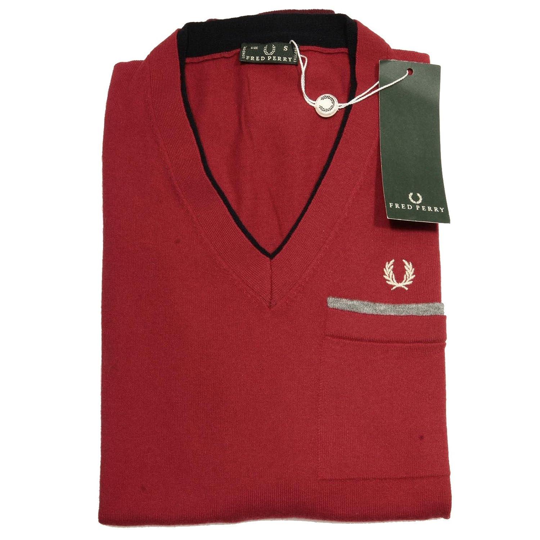 58166 maglione FRED PERRY MAGLIA RASATA uomo sweater men [S ...