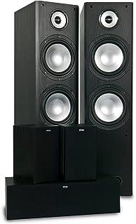 Eltax Monitor IX - Altavoces columnas (2 unidades), color negro: Amazon.es: Electrónica