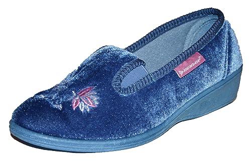 Dunlop Mujer Darcy zapatos zapatillas zapatillas de tamaños 36-41: Amazon.es: Zapatos y complementos