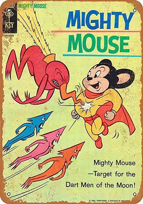 Mighty Mouse//Mighty Retro