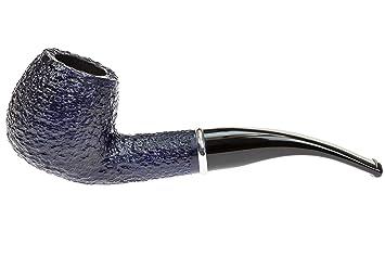 Savinelli Arcobaleno 626 Blue Tobacco Pipe   Rustic by Savinelli