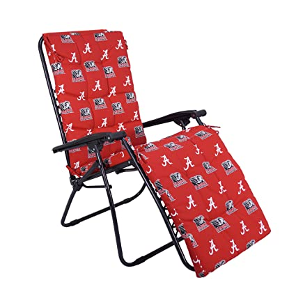 Remarkable College Covers Ncaa Alabama Tide Zero Gravity Chair Cushion 72 X 20 X 2 Crimson Ibusinesslaw Wood Chair Design Ideas Ibusinesslaworg