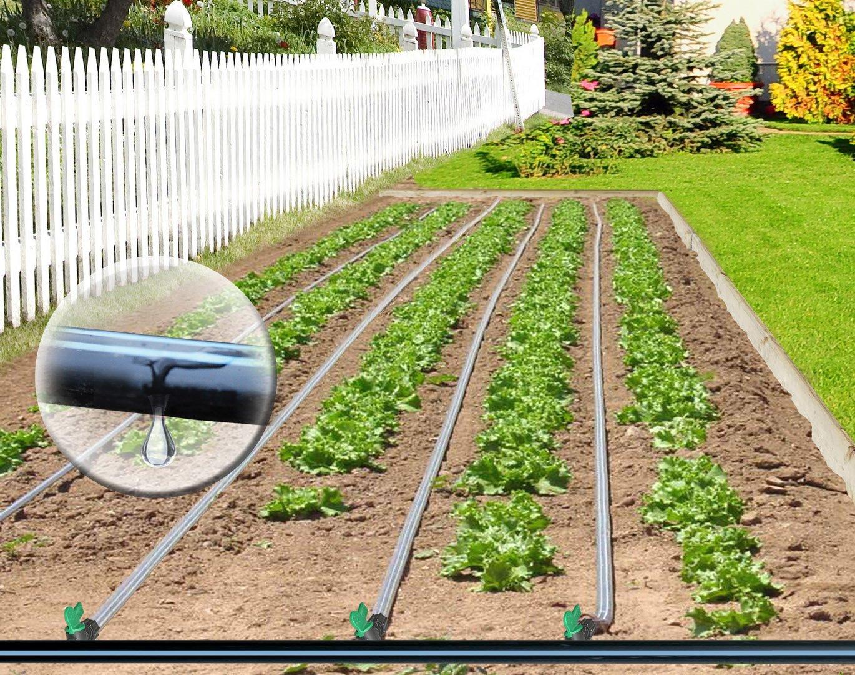 BioPlus Garden Drip Tape Irrigation Kit 500' by BioPlus