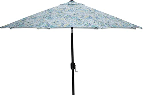 Pillow Perfect Outdoor/Indoor Addie Terra Cotta Umbrella