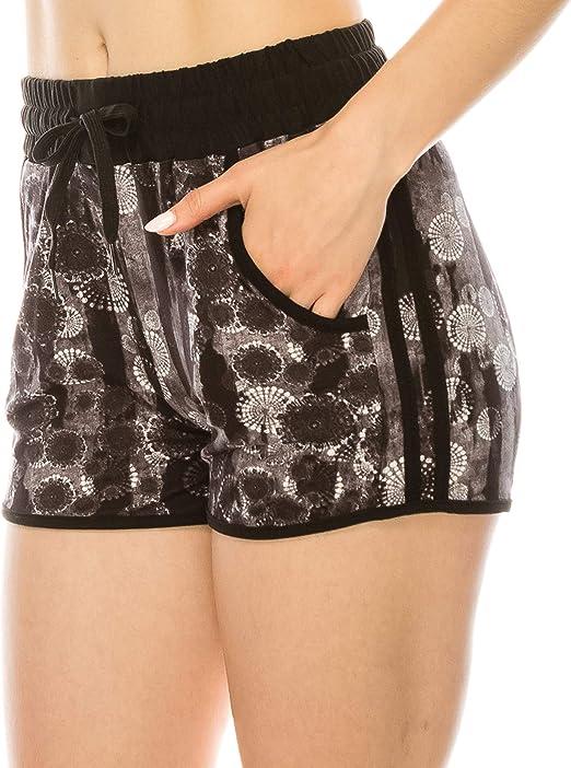 Amazon.com: ALWAYS - Pantalones cortos para mujer, diseño de ...