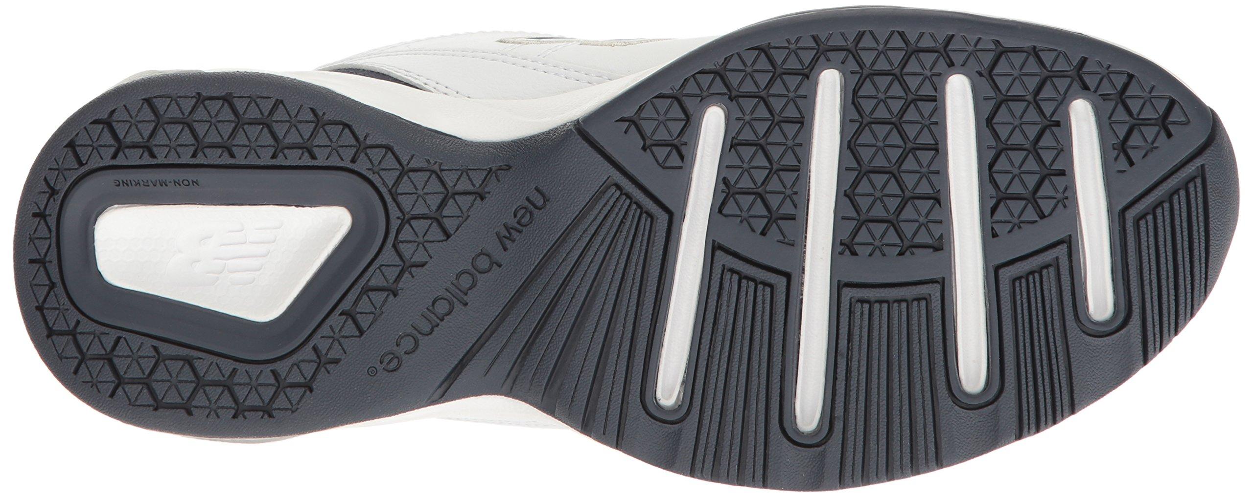 New Balance Men's MX608v4 Training Shoe, White/Navy, 7.5 4E US by New Balance (Image #3)