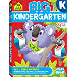 School Zone - Big Kindergarten Workbook - Ages 5 to 6, Early Reading and Writing, Numbers 0-20, Basic Math, Matching, Story O