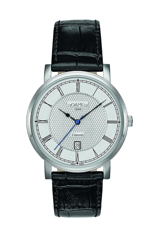 Roamer Herren-Armbanduhr CLASSIC LINE GENTS Analog Quarz 709856 41 12 07