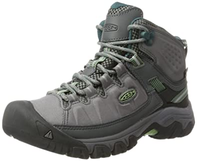 054e21f02475 Keen Womens Targhee Exp Mid WP Steel Grey Basil 6 B - Medium