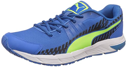 2e0ef93368f Puma Men s Ultron IDP Freblue-Safetyyellow-White Running Shoes - 10 UK India