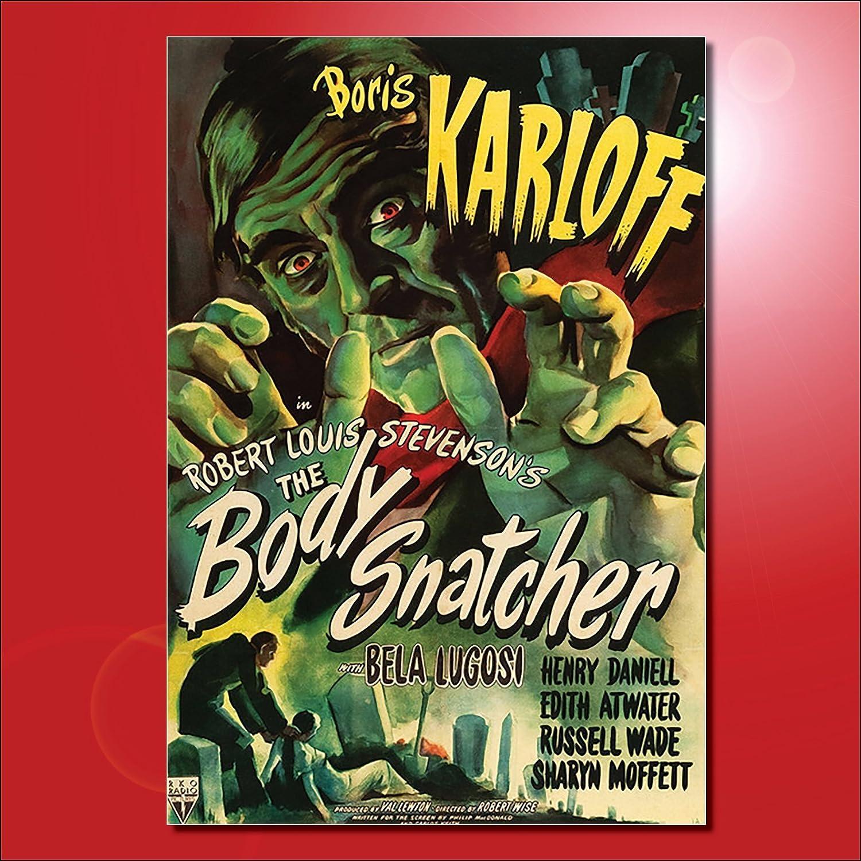 Classic B Movie Film Poster Fridge Magnets - Set of 8 large fridge magnets No.3