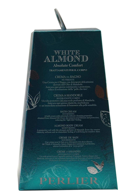 Perlier estuche White Almond Crema Baño Nutriente + Crema Almendras cuerpo: Amazon.es: Belleza